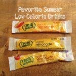 Favorite Summer Low Calorie Drinks