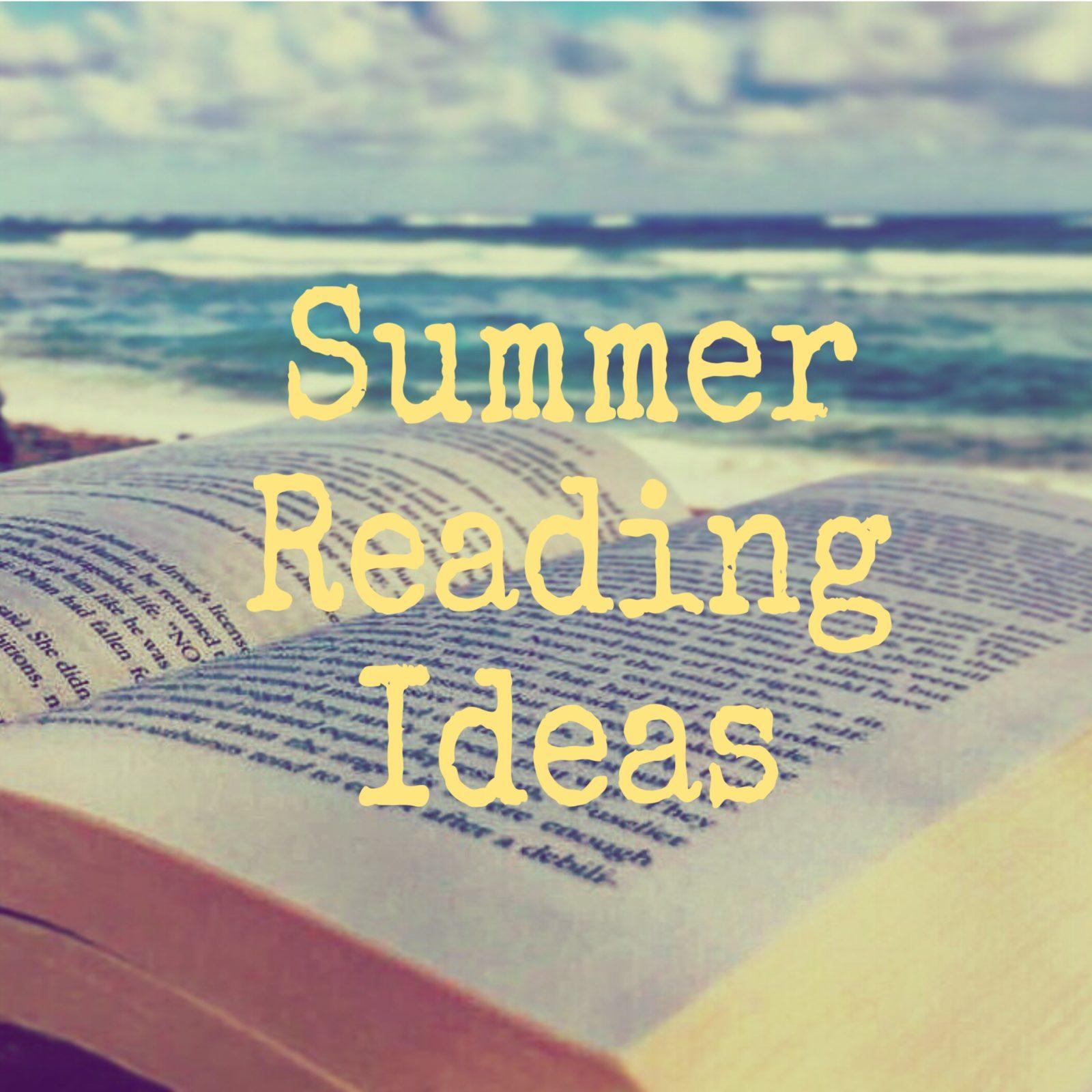 Summer book reading