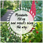 Minnesota Hiking and Snacks along the way