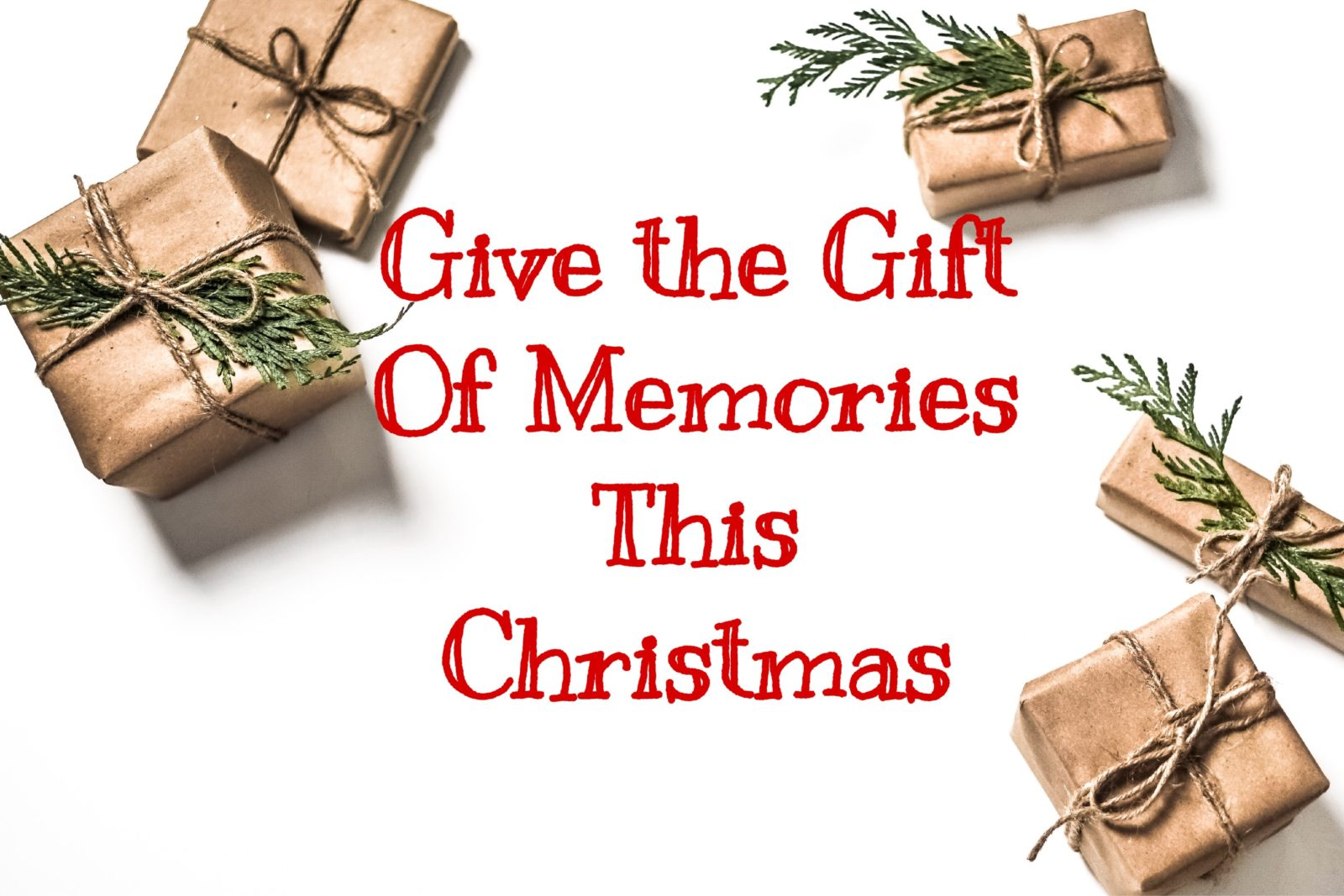 Give the Gift of Memories this Christmas:5 gift ideas