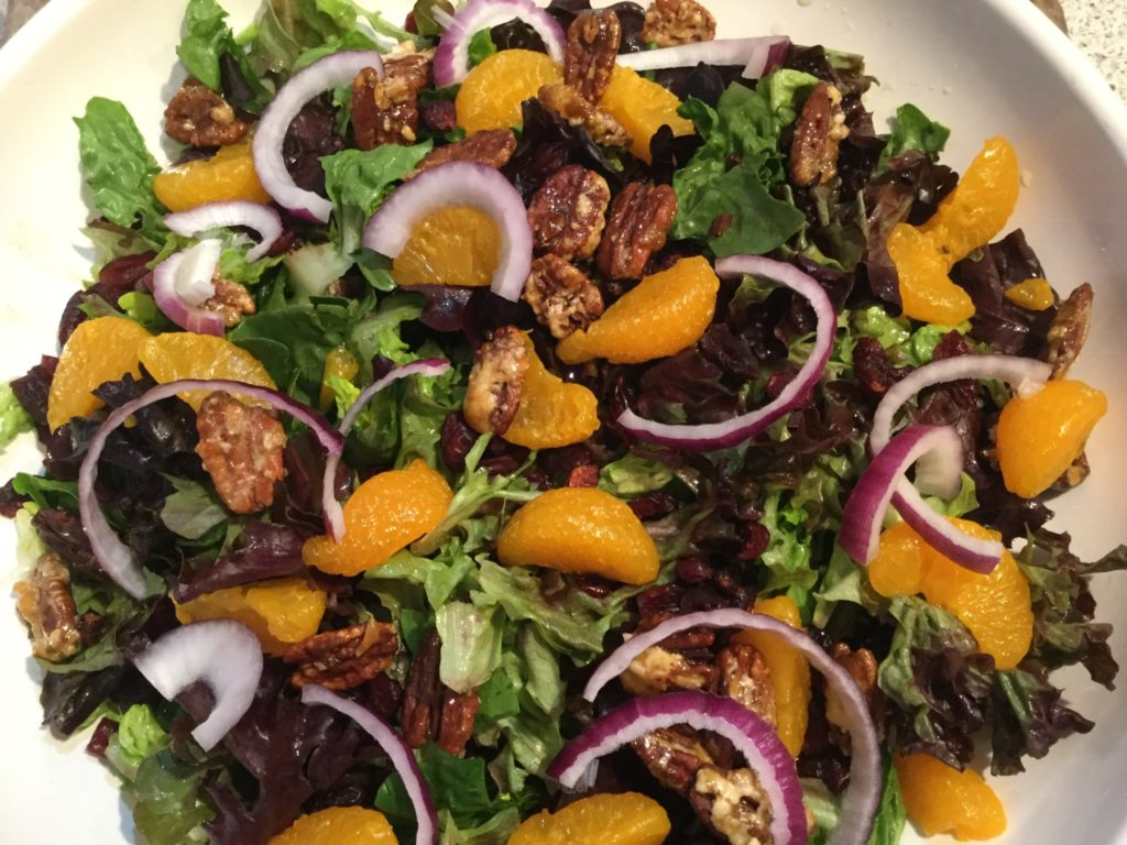 Craisin Orange Pecan Salad