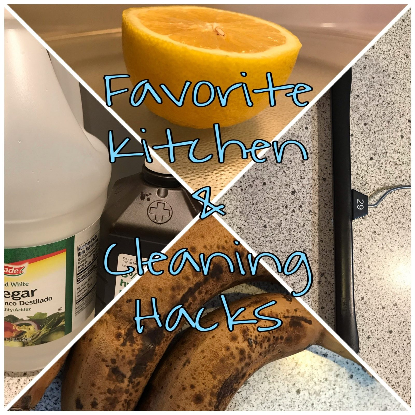 Kitchen and Cleaning Hacks