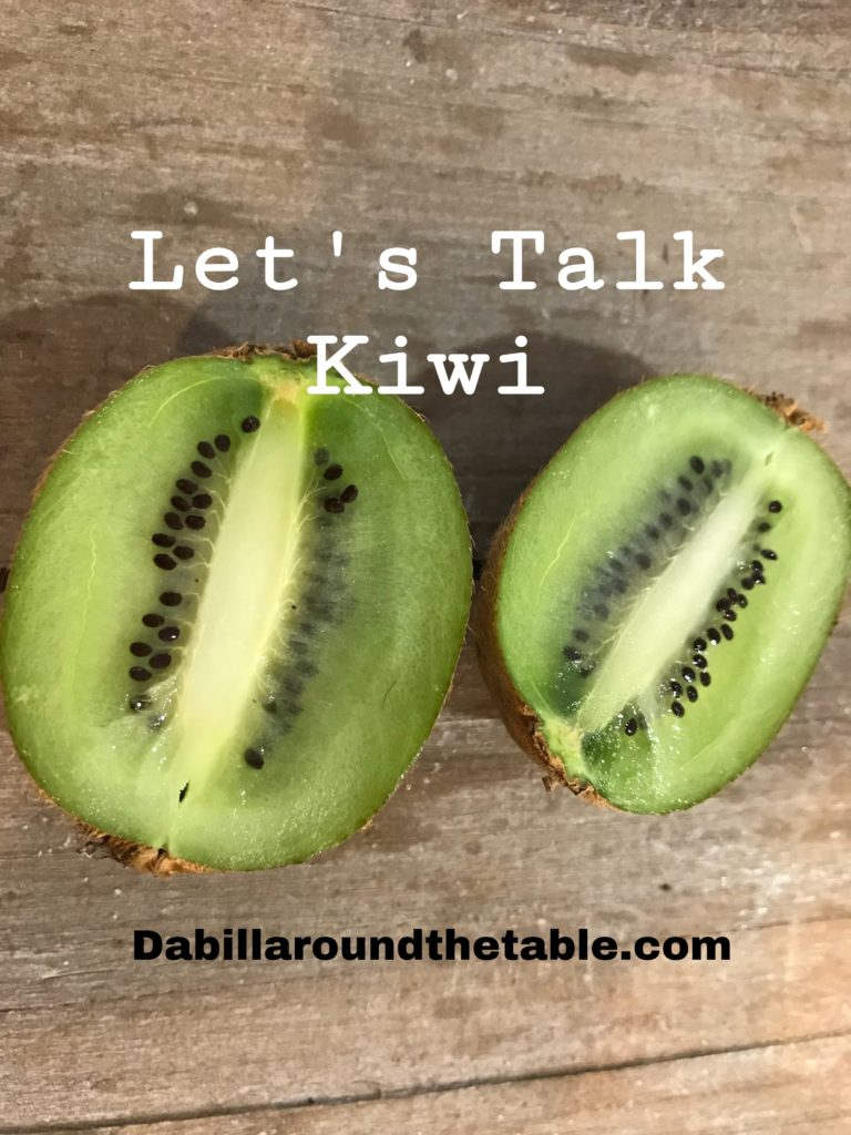 Let's Talk Kiwi Fruit