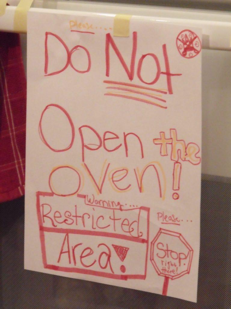Resurrection Cookies: Do not open the oven