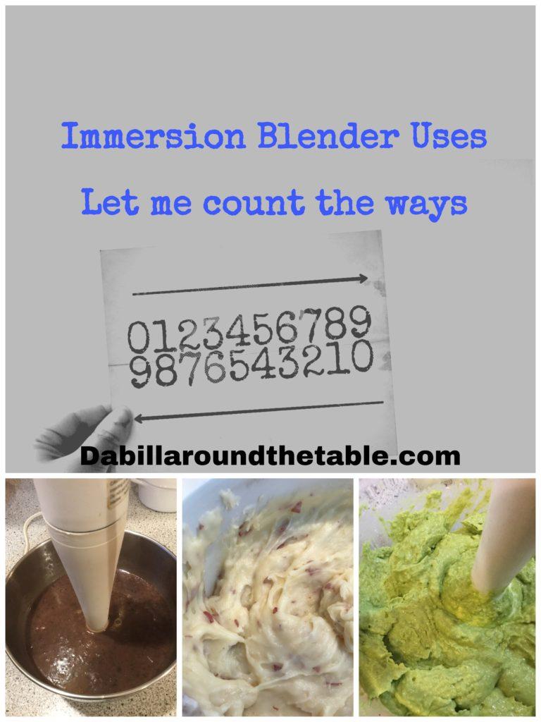 Immersion Blender Uses
