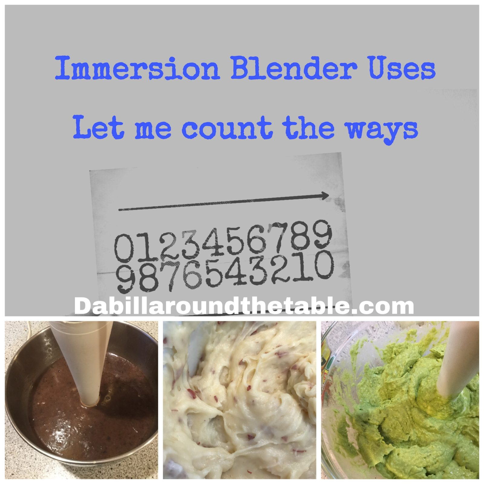 12 immersion Blender uses: Let me count the way