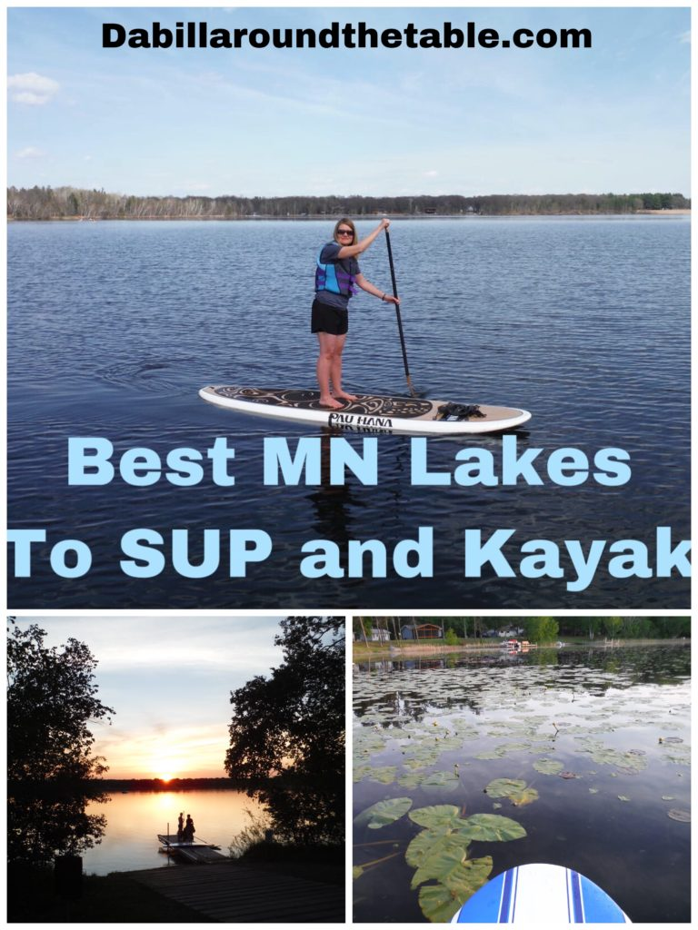 Best MN Lakes to SUP and Kayak