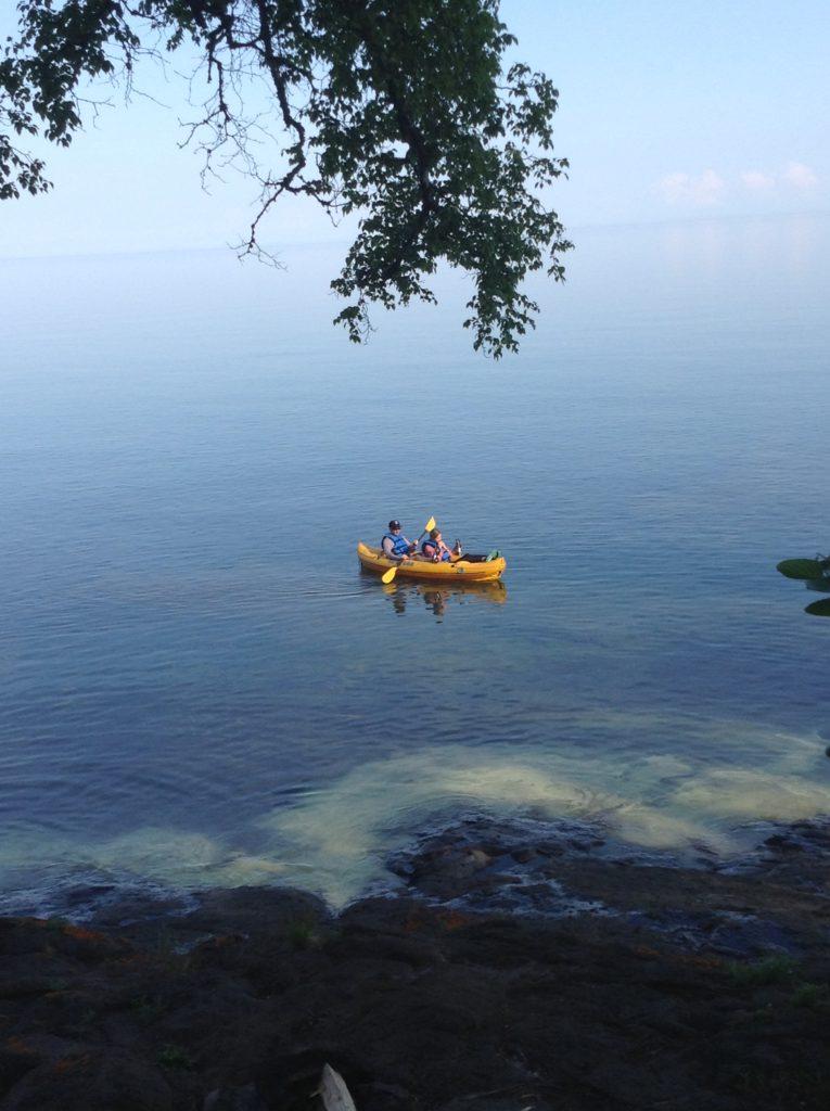 Kayak Lake Superior