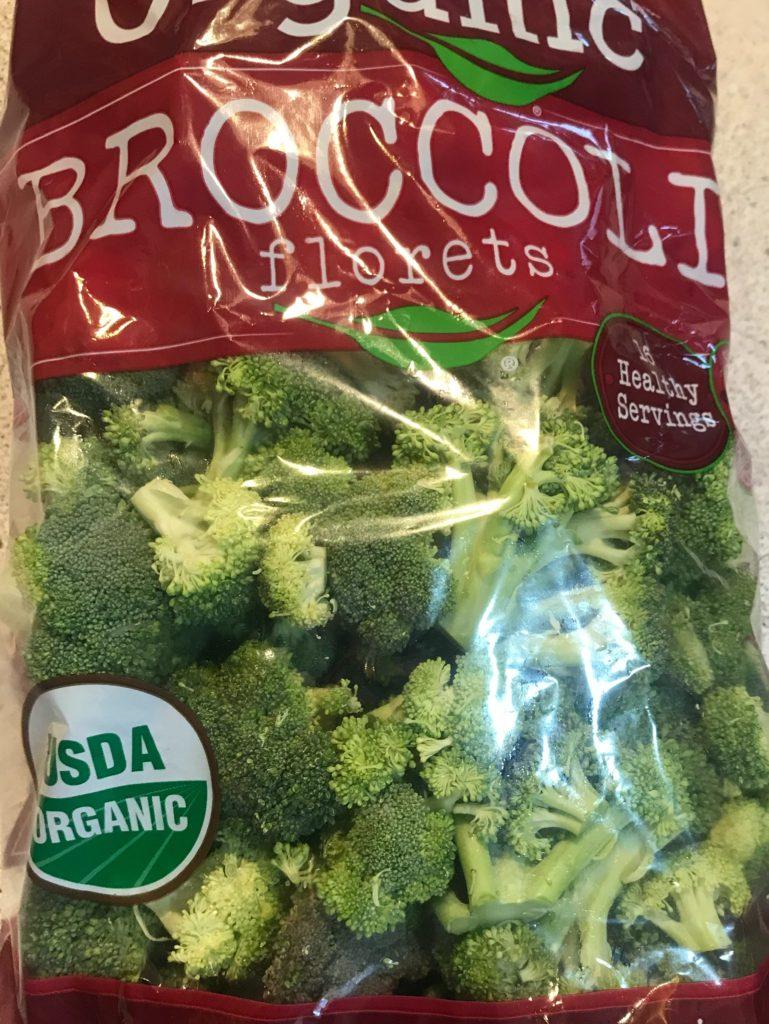 Broccoli cut up