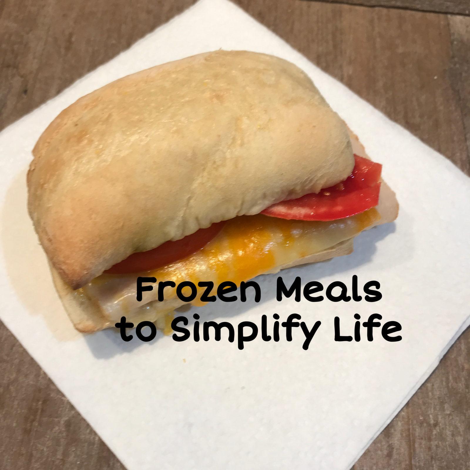 Frozen Meals.