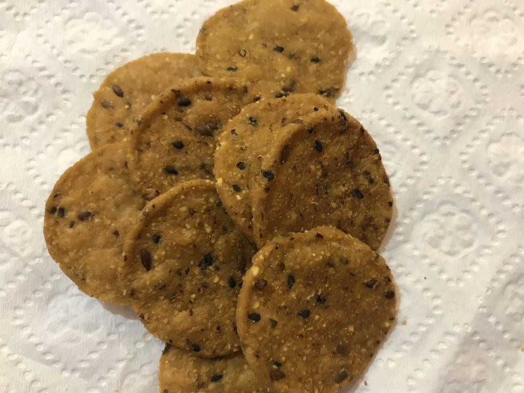 Sweet Potato Crackers