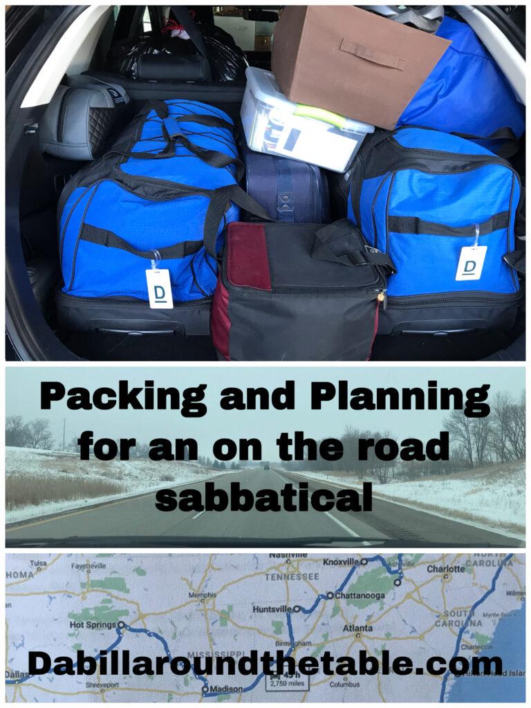 planninga and packing