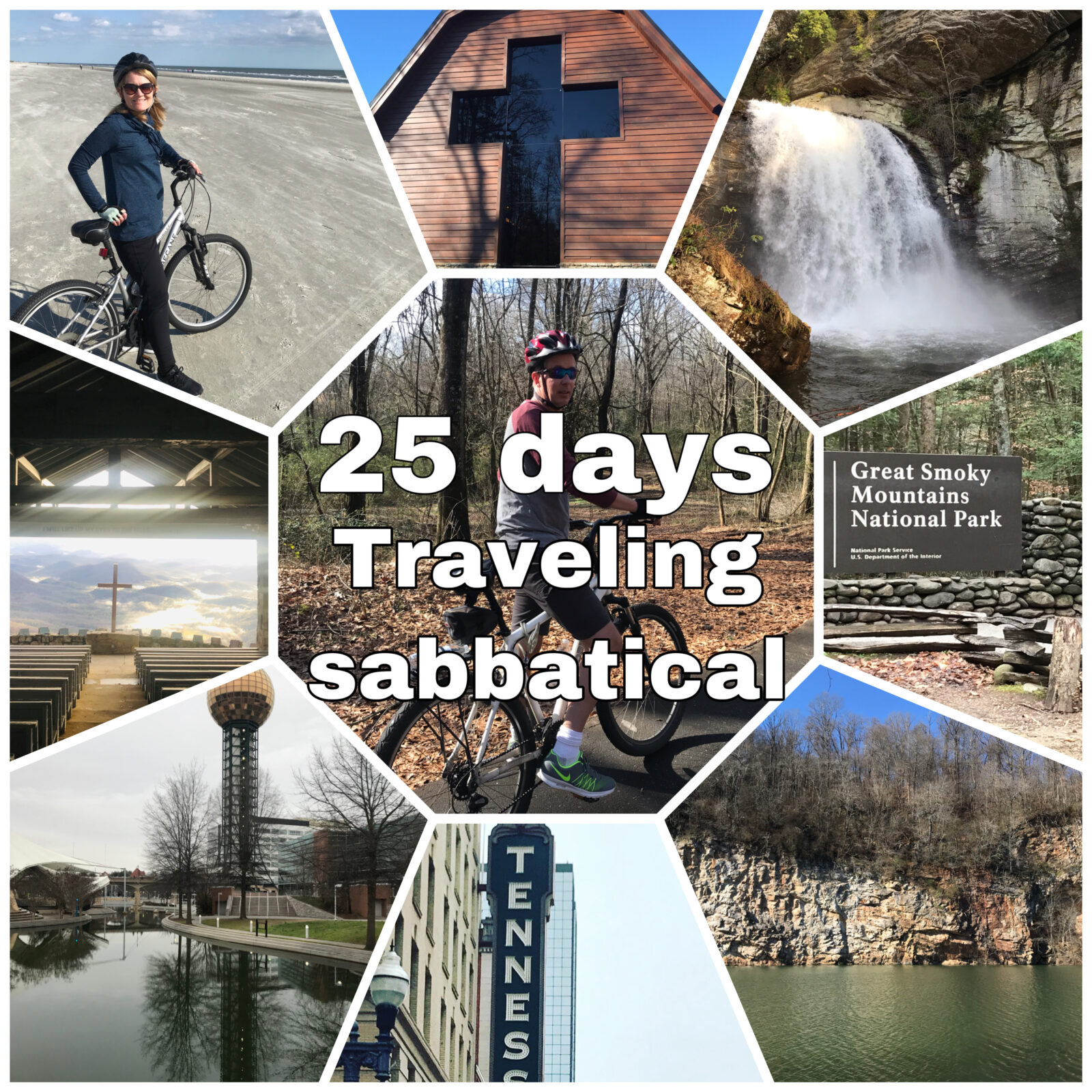 25 days of Travel
